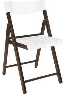 Cadeira Potenza Tabaco C/ Branco Tramontina