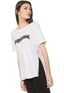 Camiseta Ellus Lettering Branca