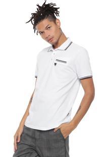 Camisa Polo Cavalera Branca