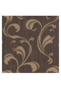 Papel De Parede Futura 44020 Romantic Com Estampa Contendo Arabesco, Moderno, Aspecto Têxtil