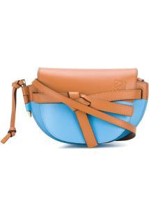 Loewe Bolsa Transversal 'Gate' Mini - Azul