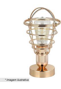 Luminária De Mesa Ara- Dourada- 27Xø14Cm- Bivoltrivatti