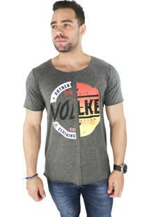 Camiseta Wolke Recorte Frontal Authentic