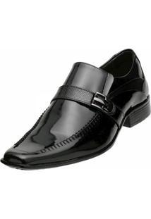 Sapato Social Gofer Verniz Preto