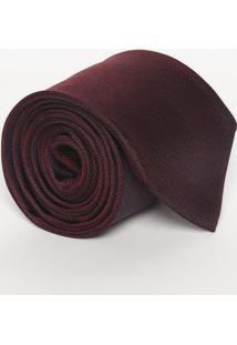 Gravata Texturizada Em Seda - Vinho - 8X148Cmcalvin Klein