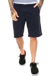 Bermuda Sarja Dc Shoes Chino Star Azul-Marinho