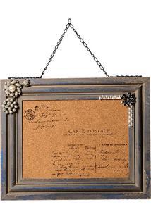Quadro Decorativo De Recados Carte Postale