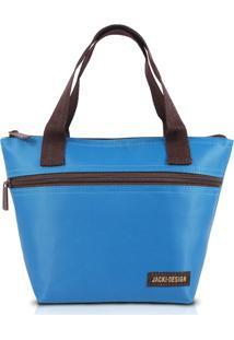 Bolsa Térmica Pequena Com Alça Jacki Design Essencial Turquesa