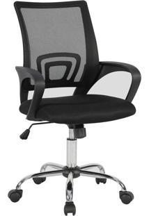 Cadeira Presidente Fratini Manchester Preta