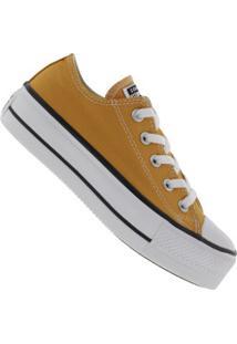 Tênis Converse All Star Chuck Taylor Plataforma - Feminino - Amarelo Escuro