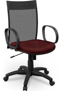 Cadeira Diretor Tela Giobel Braço Corsa