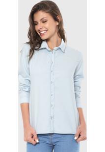 Camisa Malwee Pérola Azul
