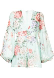Alice Mccall One By One Playsuit - Green