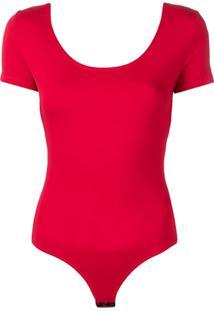 303bc08d1 Body Com Manga Vermelho feminino | Shoelover