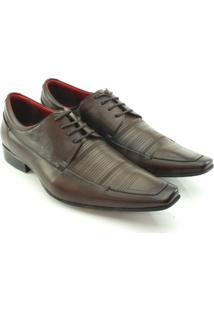 Sapato Social Teselli Masculino - Masculino-Marrom