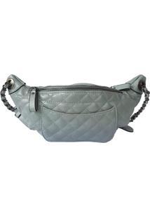 Pochete Bag Dreams Em Matelassê Azul