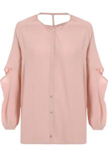 ... Camisa Feminina Unique - Rosa 24771f6fb4f4a