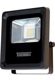 Refletor Led Taschibra 8W 6500K Tr 10 Preto