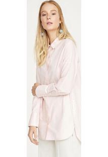 Camisa Lisa - Rosa Claroshoulder