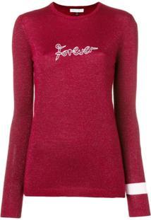 Bella Freud Forever Glittered Sweater - Vermelho