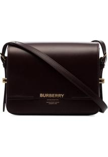Burberry Small Grace Shoulder Bag - Vermelho