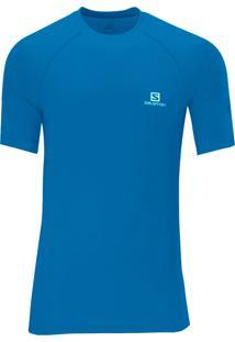 Camiseta Salomon Hybrid Ss Azul