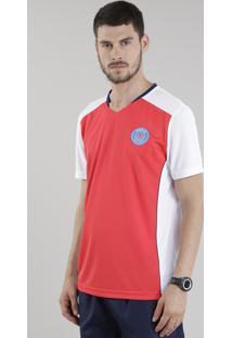 Camiseta Paris St. Germain Vermelha