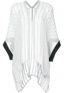 Masnada Blusa Assimétrica - Cinza