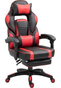 Cadeira Gamer Challenger Preta E Vermelha