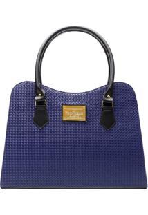 Bolsa Victor Valencia V22 - Feminino-Azul
