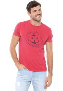 Camiseta Richards Marina Vermelha