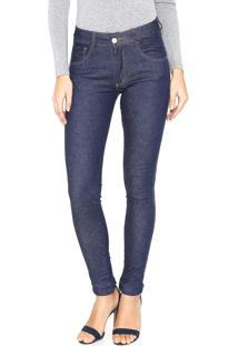 ... Calça Jeans Biotipo Skinny Lisa Azul fd1bd6aa7d6