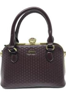 Bolsa Casual Sys Fashion 8534 Feminina - Feminino-Cafe