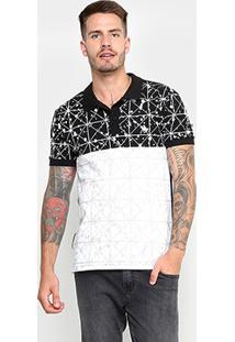 Camisa Polo Rg 518 Bicolor Masculina - Masculino