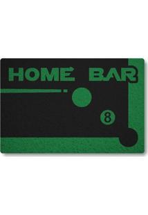 Tapete Capacho Home Bar - Preto