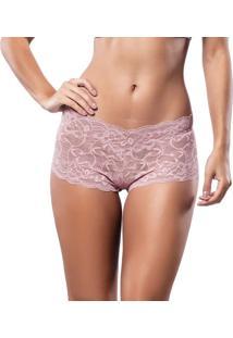 Caleçon Rendado Nude Marcyn | 095.0249 - Nude Pink - P