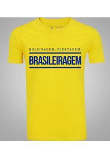 Camiseta Zé Carretilha Brasil Brasileiragem Masculina - Masculino