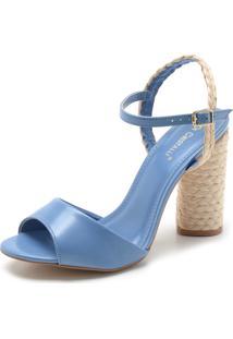 c40e63fd6 R$ 89,99. Dafiti Sandália Di Cristalli Corda Azul