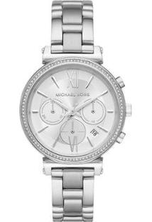 Relógio Michael Kors Feminino Sofie - Mk6575/1Kn Mk6575/1Kn - Feminino-Prata