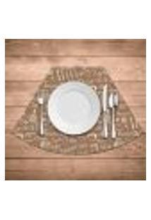 Jogo Americano Para Mesa Redonda Wevans Kitchen Kit Com 4 Pçs