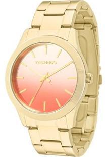 Relógio Technos Fashion - 2035Lzp/4R 2035Lzp/4R - Feminino-Dourado