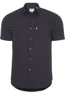 Camisa Masculina Sleeve Classic - Preto