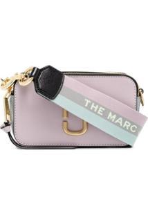 Marc Jacobs Bolsa Transversal Snapshot - Roxo
