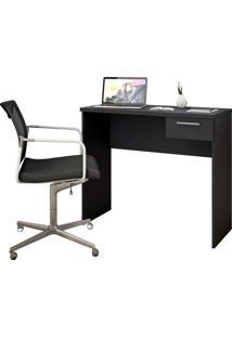 Mesa Office Preto Notável Móveis