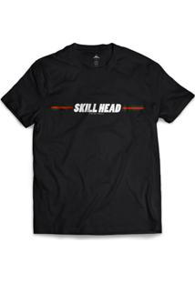 Camiseta Skill Head Ribbon - Masculino