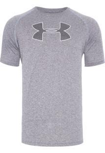 Camiseta Masculina Brazil Big - Cinza