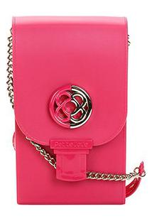 Bolsa Petite Jolie Mini Bag Phone Case Plus Feminina - Feminino-Rosa
