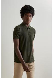 Camisa Polo Reserva Flame Surtom Masculino - Masculino-Verde Escuro