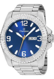 44a8df0c5fd Eclock. Relógio Masculino Magnum Champion Clock Aço Dobrável Analógico  Ca31588f