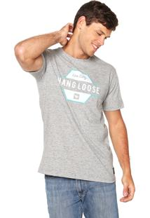 Camiseta Hang Loose Live Cinza